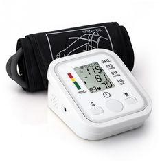 DC 6V Automatic LCD Digital Blood Pressure Monitor BP Pulse Sphygmomanometer Blood Pressure Tester meters Health Care Po #Affiliate