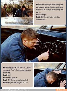 Really?? That's just wrong. Jensen is Dean | Supernatural fandom