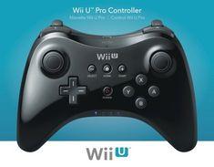 Nintendo Wii U Pro Controller - Black (Nintendo Wii U)