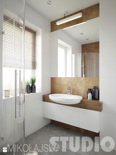 biała łazienka - zdjęcie od MIKOŁAJSKAstudio - Łazienka - Styl Industrialny - MIKOŁAJSKAstudio