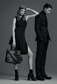 The #Versace little black dress. Style it with attitude. More on versace.com #7D7D