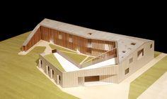 Cino Zucchi Architetti, modulo, architectural model, maqueta, maquette