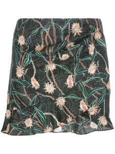 ISABEL MARANT 'Luna' Short Skirt. #isabelmarant #cloth #mini skirts