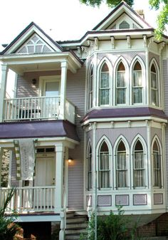 Look at those windows on this historic home! These are called cathedral windows. We specialize in replacement windows and doors for historic homes in the Minneapolis St. Paul MN area. http://www.replacementwindowsmpls.com