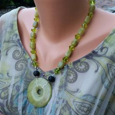 Essential Oil Diffuser Necklace  Gemstone Lava by AromaGemJewelry