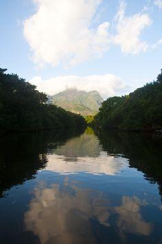 Marapendi River, Barra da Tijuca, Rio de Janeiro. Photo by Giovani Cordioli.
