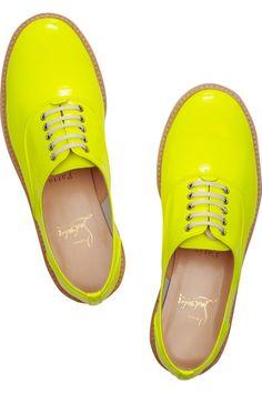 Fluro yellow.
