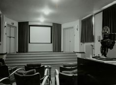 Bioscoopzaal in Paleis Soestdijk