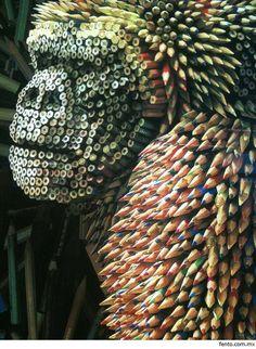 Gorila colores lapicez