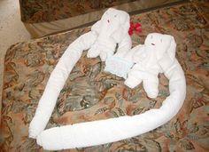 12 Most Creative Origami Towels (origami towels, creative origami) - ODDEE