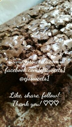Yum!  Chocolate Chip Brownies!   #ejssweets #ejssweets1 #cakesinmcdonough #customcakes #cakelady #cake #instalike #instayummy #instacake #instabaker #ibake #cakebaker #ilovecake #sweettreats #sweetthooth #sweets #bestcustomers #lovewhatido #brownies #chocolatechipcookies #chocolate