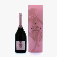 Magnum champagne Deutz rosé
