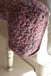 crochet rose blanket...love!