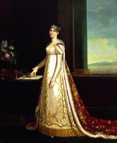 Portrait of Joséphine de Beauharnais (Robert Lefevre - 1805)