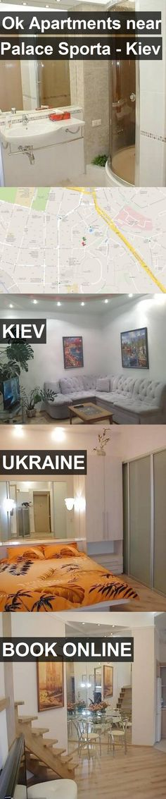 Ok Apartments near Palace Sporta - Kiev in Kiev, Ukraine. For more information, photos, reviews and best prices please follow the link. #Ukraine #Kiev #travel #vacation #apartment