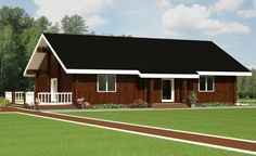Wooden house plans: French wooden home  Achille  130 m²