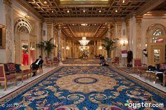 Lobby at The Fairmont Copley Plaza Boston