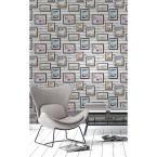 56.4 sq. ft. Inspire Multi Frames Wallpaper, Multicolor