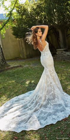 eve of milady bridal spring 2018 sleeveless lace straps plunging split sweetheart fit embellished bodice flare lace wedding dress chapel train sexy elegant bv -- Eve of Milady Boutique Spring 2018 Wedding Dresses Eve Of Milady, Stunning Wedding Dresses, Lace Wedding, Wedding Costumes, Yes To The Dress, Princess Wedding, Elegant, Marie, Ball Gowns