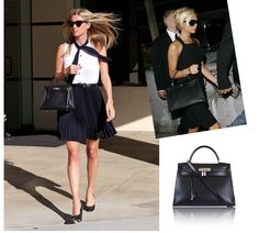 Celebrity bags and jewelres are here! on Pinterest | Chanel Black ...