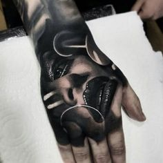 Best Hand Tattoos For Men: Cool Hand Tattoo Ideas, Badass Full Hand Tattoo Designs For Guys Full Hand Tattoo, Hand Tattoos For Guys, Finger Tats, Male Hands, Tattoo Designs, Tattoo Ideas, Tatting, Superfly, Cool Stuff
