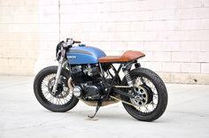 Babe Blue '73 CB750 Build