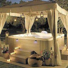 My hot tub!