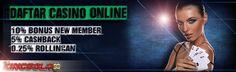 Agen Casino Online, Kingbola99 Menyediakan Segala Permainan Judi Casino Online Dengan Fasilitas Deposit Murah Dan Bonus Menarik Dan Pelayanan Ramah Dan Sopan