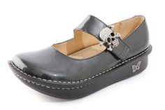 Alegria Paloma Charcoal Patent | Alegria Shoes -- love the shoes, but this one is perfect for my daughter V