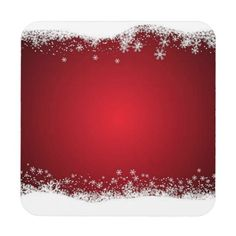 And White Christmas Pattern Beverage Coaster - Christmas Eve Christmas Quotes, Christmas Images, Christmas And New Year, White Christmas, Christmas Cards, Christmas Decorations, Christmas Eve, Christmas Trees, Free Christmas Backgrounds