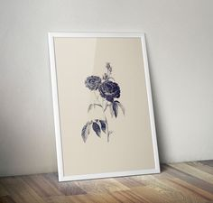 The Roses (limited edition) via goodputty. Click on the image to see more! #art #flowers #roses #gothic #illustration