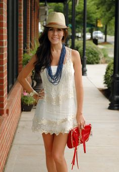 Freedom Lace Tank