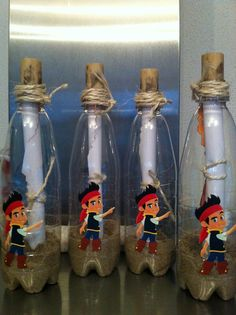 Pirate Map In a bottle 5th Birthday Boys, Mickey Birthday, Pirate Birthday, Party Animals, Animal Party, Pirate Day, Pirate Theme, Treasure Hunt Map, Hello Kitty Invitations
