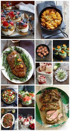 Skal du ha fest? Vet du ikke hva du skal servere? Her er 18 festmat oppskrifter - alt fra forrett, hovedrett, tilbehør og dessert. Sjekk de ut her! Scandinavian Food, Ceviche, Pavlova, Health, Ethnic Recipes, Health Care, Salud