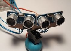 Creating a motion following robot from Arduino Uno http://www.instructables.com/id/Motion-Following-Robot/