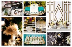 Art Deco inspired  http://www.rebeccajeancatering.com/wp-content/uploads/2013/04/deco1.png