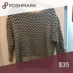 Joie Sweater Joie cozy sweater.  Has a little bit of wool in it but it's not super itchy.  Great warm sweater with a button down underneath Joie Sweaters Crew & Scoop Necks