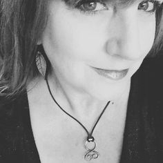 Beautiful shot from a customer who posted in the wicked Griffin Facebook group  She's wearing her troll cross and leaf earrings. - thewickedgriffin.com
