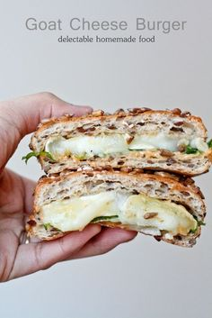 Goat Cheese Grilled Cheese.  ****Repinned from my Goat Cheese Board - best cheese ever!.