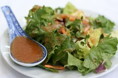 """Your day just got better with this tip: """"Beni Hana Hibachi GINGER SALAD DRESSING!"""""""