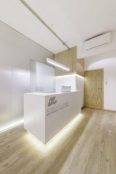 comfortable reception small dental office interior design idea