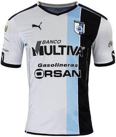 The new Querétaro 2016-17 jerseys by Puma introduce stunning designs.  Queretaro Fc 256022c66df26