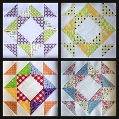 *Sew Scrappy Quilts*: Two More Blocks Down Pretty, pretty!