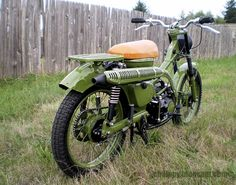 Honda CT90 Still have this on and in army green. Keep wanting to add a sidecar to it.