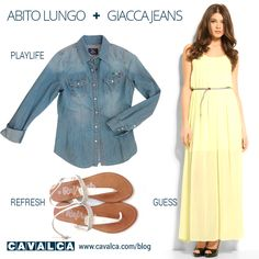 #outfit #look #summer #guess #refresh #playlife #cavalca