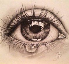 68 Ideas for eye sketch pencil crying Source by DollarhideGirl sketch Cool Art Drawings, Pencil Art Drawings, Realistic Drawings, Art Drawings Sketches, Sketches Of Eyes, Pencil Sketching, Eye Drawings, Tears Art, Eye Drawing Tutorials