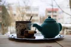 Crochet Tea pot. Garnknuten