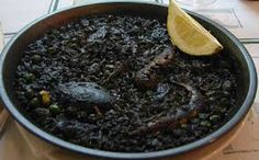 Recipe for Spanish Black Rice Cubanelle Pepper, Best Spanish Food, Black Rice, White Rice, Seafood Paella, Tapas Recipes, Portuguese Recipes, Spanish Recipes, Spanish Dishes