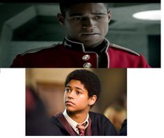 """I knew he looked familiar! Dean Thomas, 20 points to Gryffindor!"" The actor is Alfie Enoch who appeared in the Harry Potter films as Dean Thomas.  He is in Sherlock season 3. OH MY GOD"