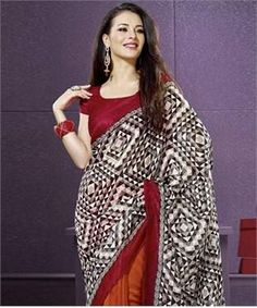 Bhagalpuri Silk Saree with Blouse | I found an amazing deal at fashionandyou.com and I bet you'll love it too. Check it out!
